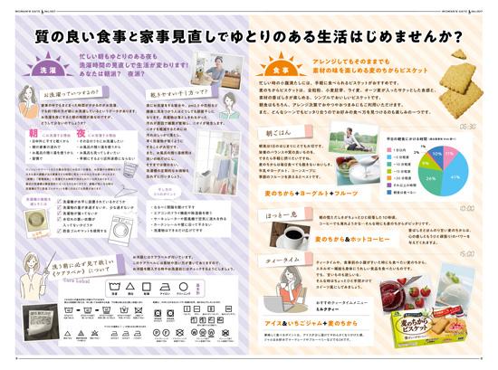 森永製菓様紙面2−3ページ